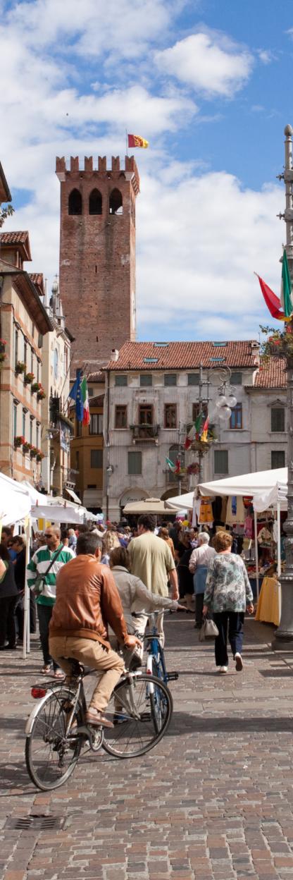 Tour Turistico in Van Borghi e Cittadine venete personalizzabile mezza giornata e Strada del Prosecco Unesco